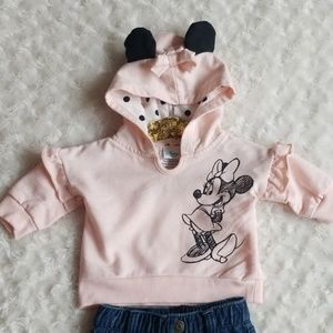 Minnie Mouse sweatshirt 💕